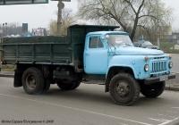 Самосвал ГАЗ-САЗ-53Б. № 269-53 КХ. . Киев, Броварской проспект