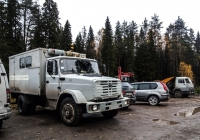 Машина аварийно-ремонтная РЖМ-52 на шасси ЗиЛ-433362, #В 445 ТК 29. Архангельская область,Мирный