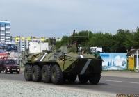 БТР-70М. Алтайский край, Барнаул, Власихинская улица