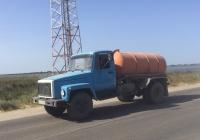 Вакуумная машина на базе ГАЗ-3307, #АР4578АР. Запорожская область, пгт. Кирилловка, улица Федотова коса