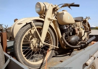 Военный мотоцикл DKW NZ-500. Олдкарфест.. Киев, улица Медовая.
