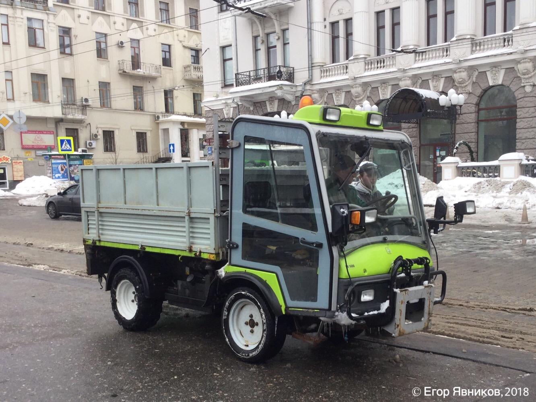 Мини-грузовик Grillo PK-1400 4WD. Харьковская область, г. Харьков, парк Шевченко