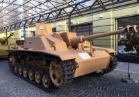 Немецкая самоходная артиллерийская установка StuG III Ausf.G. Московская область, Ильинское шоссе 4-ый км (Музей техники Вадима Задорожного)