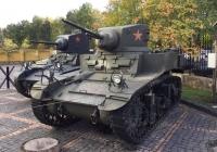 Американский лёгкий танк M3A1 Stuart. Московская область, Ильинское шоссе 4-ый км (Музей техники Вадима Задорожного)