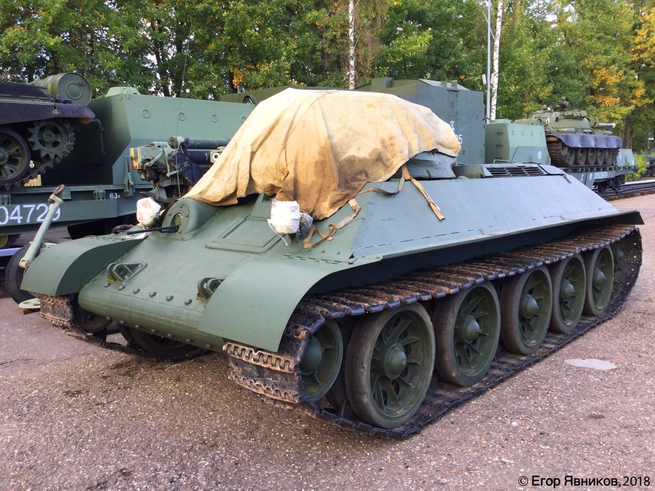 Советский средний танк Т-34-76. Московская область, Ильинское шоссе 4-ый км (Музей техники Вадима Задорожного)