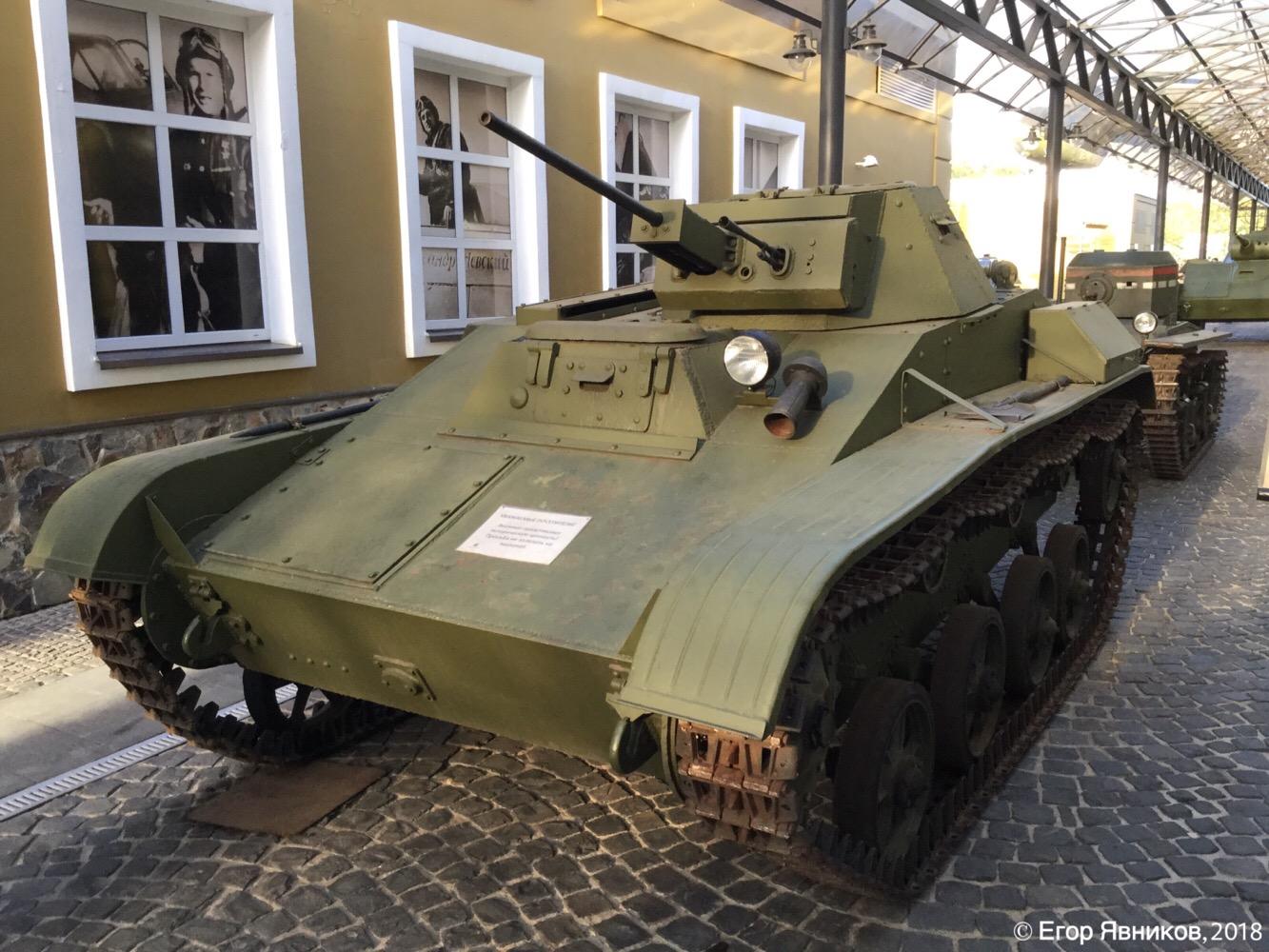 Советский лёгкий танк Т-60. Московская область, Ильинское шоссе 4-ый км (Музей техники Вадима Задорожного)