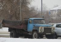Самосвал ГАЗ-САЗ 3507 на шасси ГАЗ-53-14 #Т 295 АС 45. Курган, улица Ленина