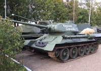 Советский средний танк Т-34-85. Московская область, Ильинское шоссе 4-ый км (Музей техники Вадима Задорожного)