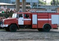 Пожарная автоцистерна АЦ-40(5233Н2)-268-01 на шасси КрАЗ-5233Н2 № т1 ОС 5615. Полтавская область, Кременчуг. Демонстрационно -испытательный полигон КрАЗ.