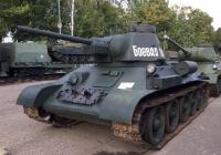 Средний танк Т-34-76. Московская область, Красногорский район, Музей техники Вадима Задорожного