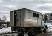 Машина аварийно-ремонтная РЖМ-52 на шасси ЗиЛ-433362, #В 445 ТК 29. Архангельская область, Мирный