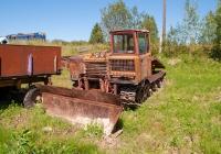 Трактор-трелёвщик ТДТ-55А. Посёлок Ида, Вологодская обл.