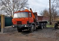 Бортовой грузовик Tatra T815 с краном-манипулятором. Харьковская область, г. Харьков, Роганская улица