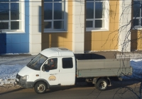 "Бортовой автомобиль ГАЗ-330232 ""Газель"" #А 709 ЕУ 45.  Курган, улица Куйбышева"
