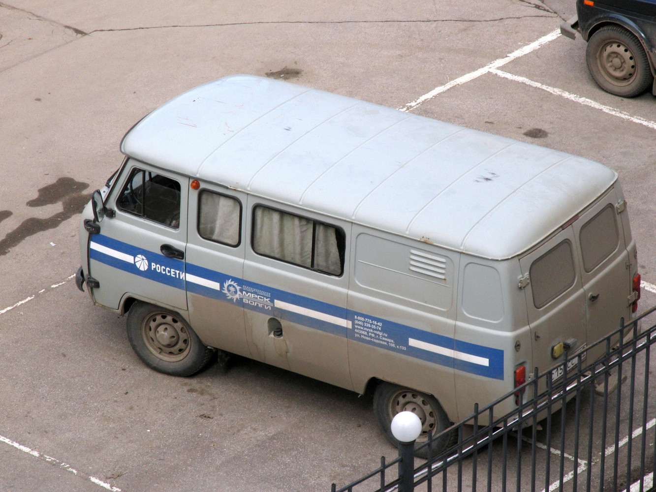 УАЗ-3909. г. Самара, ул. Ново-Садовая