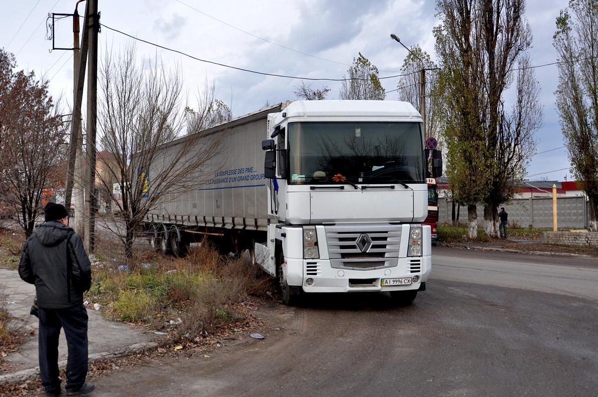 Седельный тягач Renault Magnum  #AI 9996 CX. Харьковская область, г. Харьков, Роганская улица