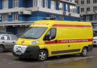 автомобиль скорой медицинской помощи на базе Peugeot Boxer #Т760ВН163. г. Самара, ул. Липецкая
