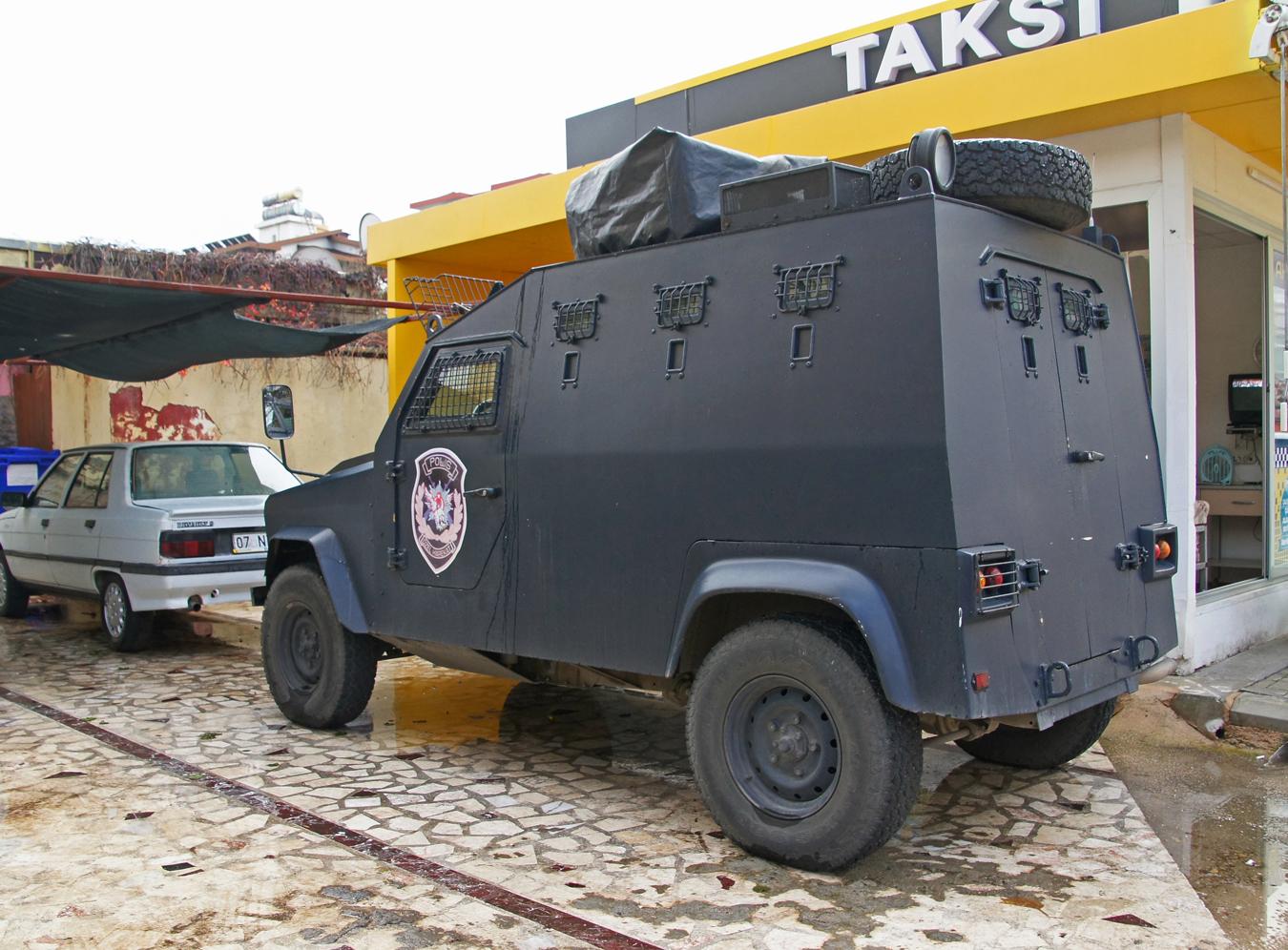 Бронеавтомобиль. Турция, Аланья