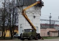 Автоподъёмник АГП-22.04 на шасси ЗиЛ-433362 # Т 677 МВ 36. Белгородская обл., г. Алексеевка, Привокзальная площадь