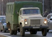 Вахтовый автобус ТС-3966 на шасси ГАЗ-53-12 #у754мс63 . г. Самара, ул. Ново-Садовая