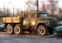Грузовой автомобиль с бортовой платформой и дубль-кабиной на шасси ЗиЛ-131. г. Самара, Северо-Восточная магистраль