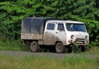 Бортовой малотонажный грузовик УАЗ-390944  #АА 4736 КК. Харьковская область, г. Харьков, Велозаводская улица