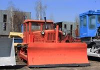 Бульдозер Д-535 на базе трактора Т-75-С2. Харьковская область, г. Харьков, полигон ХНАДУ