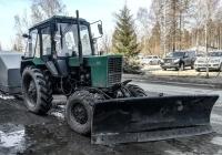 Трактор Беларус-82.1 (МТЗ-82.1). Архангельская область, Мирный, улица Дзержинского