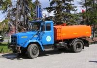 Поливомоечная машина КО-713 на шасси ЗиЛ-433362 #Е744ЕН163. г. Самара, пл. им. В. В. Куйбышева