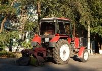 Коммунальная машина на базе трактора МТЗ # 5195 ЕР 31 . Белгородская область, г. Алексеевка, ул. Мостовая