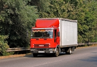 Фургон на шасси Iveco EuroCargo #АХ 8719 ВК. Харьковская область, г. Чугуев, автотрасса М-03