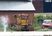 Бульдозер на базе гусеничного трактора. Алтайский край, Новоалтайск, улица Промплощадка