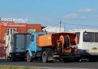 Каналопромывочная машина КО-502Б-2 на шасси ЗиЛ-433362 # Р 718 КО 31 . Белгородская область, г. Алексеевка, ул. Мостовая