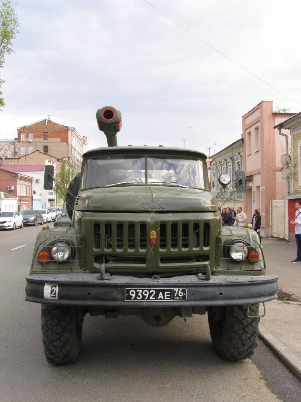 авторазливочная станция АРС-14ПМ на базе ЗиЛ-131 (шасси). г. Самара, ул Молодогвардейцская