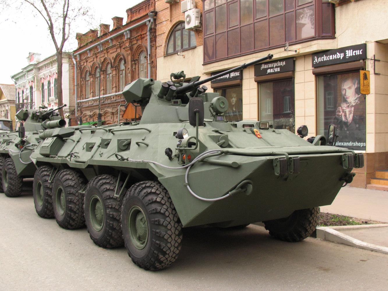 БТР-82*. г. Самара, ул Молодогвардейцская