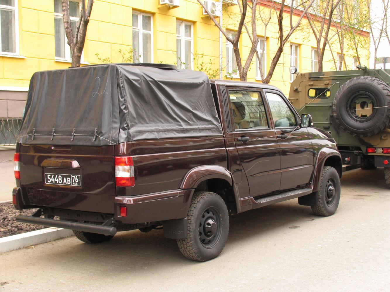 УАЗ-23632. г. Самара, ул Молодогвардейцская