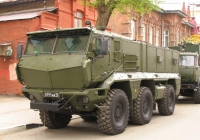 Бронеавтомобиль КамАЗ-63968 «Тайфун» # 5191 АВ 76. г. Самара, ул Молодогвардейцская