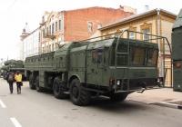 "Пусковая установка 9П78-1 комплекса 9К720 ""Искандер* на шасси МЗКТ-7930. г. Самара, ул Молодогвардейцская"