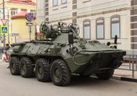 Бронированная ремонтно-эвакуационная машина БРЭМ-К. г. Самара, ул Молодогвардейцская