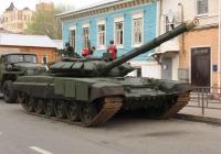 танк Т-90. г. Самара, ул Молодогвардейцская