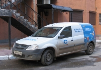 цельнометаллический фургон LADA LARGUS F90 #Т440ОХ750. г. Самара, ул. Чапаевская