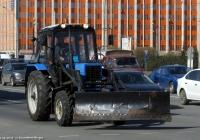 Трактор Беларус-82.1 (МТЗ-82.1) #5507 РК 78  Санкт-Петербург, площадь Конституции. Санкт-Петербург