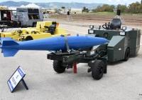 Транспортер для погрузки (подвески) авиабомб BL-1 Weapon Loader, Выставка на День Независимости.. Израиль, Хайфа