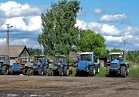 Тракторы Ракитнянского профессионального аграрного лицея. Харьковская область, село Рокитное