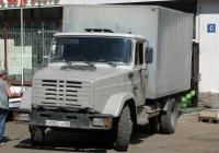 Фургон на шасси ЗиЛ-433362 #Р 002 ТН 02. Башкортостан, г. Уфа, улица Российская