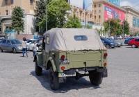 Автомобиль ГАЗ-69А, #АХ9506АМ . Харьковская область, г. Харьков, площадь Свободы