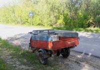 Грузовой мотороллер Муравей-2.03 #9054 ТЮН . Тюмень, Антипинская улица