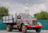 Бортовой грузовик ЗиЛ-164А, #097-03ХО. Харьковская область, г. Харьков, площадь Свободы