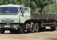 седельный тягач КамАЗ-54115 #О444ТУ63 с полуприцепом. г. Самара, пр. Ленина
