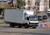 Изотермический фургон Mercedes-Benz LK-series  #АХ 0921 AI. Харьковская область